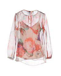 Pedro Del Hierro Madrid - Pink Blouse - Lyst