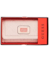 Guess Pink Juliet Boxed Slim Clutch Wallet