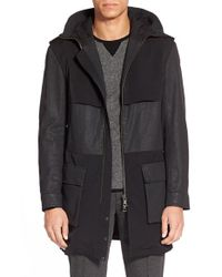 VINCE | Black + Garance Dore Coated Parka for Men | Lyst