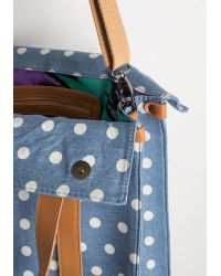 Nila Anthony - Blue Camp Director Tote In Day Camp - Lyst