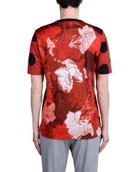 Dolce & Gabbana Black Digital-Print Cotton-Piqué Polo Shirt for men