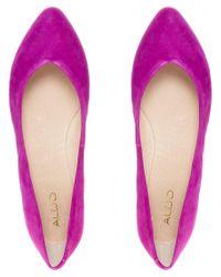 ALDO - Purple Razavi Fuchsia Flat Shoe - Lyst