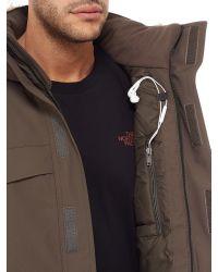 The North Face | Brown Nanavik Men's Parka for Men | Lyst
