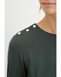 Forever 21 | Green Contemporary Buttoned Combo Top | Lyst