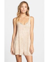 RVCA Natural 'nite Glow' Sleep Romper
