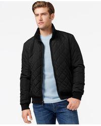 Calvin Klein Black Men's Quilted Jacket for men