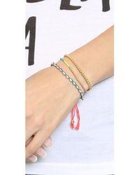 Shashi | Multicolor Sam Bracelet - Marigold | Lyst