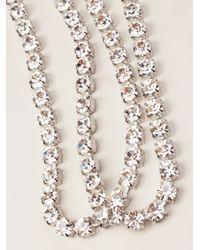 Tom Binns - Metallic Long Strand Necklace - Lyst