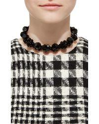 Simone Rocha - Black Beaded Necklace - Lyst