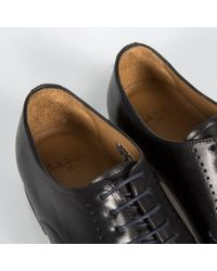 PS by Paul Smith | Black 'moore' Plain Toe Derby for Men | Lyst