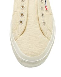 Superga | Natural Cotu Slip-on Tennis Shoes | Lyst