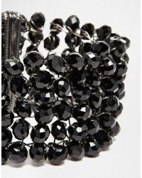 Coast - Black Bella Bracelet - Lyst