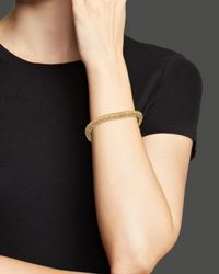 Roberto Coin | Metallic 18K Yellow Gold Plated Sterling Silver Stingray Wave Bangle | Lyst