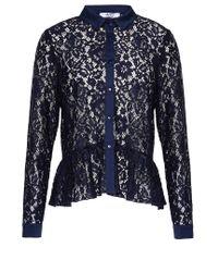 Liu Jo | Blue Lace Shirt | Lyst