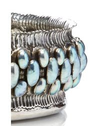 Buccellati | Blue One Of A Kind Sterling Silver And Nacre Pearl Bowl | Lyst