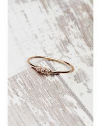 Forever 21 | Pink Shashi Julia Ring | Lyst