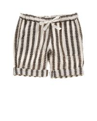 lemlem | Natural Lemlem Elsabet Shorts In Earth | Lyst
