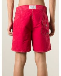 Polo Ralph Lauren - Logo Embroidered Swim Shorts for Men - Lyst