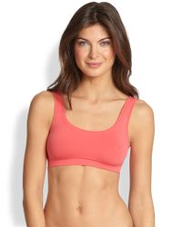 Hanro | Pink Touch Feeling Crop Top | Lyst
