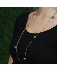 Todd Reed - Metallic Raw Diamond Five Station Necklace - Lyst