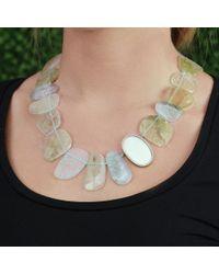 Monique Péan - Multicolor Natural Tourmaline Necklace - Lyst