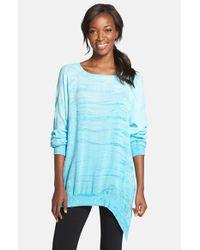 Hard Tail - Blue Asymmetrical Pullover - Lyst