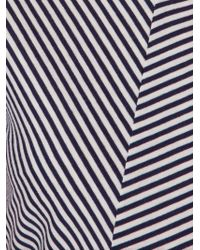Giuliana Romanno | Black Stripe T-shirt | Lyst