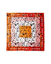 Marc By Marc Jacobs   Multicolor Concentric Square Scarf - Safari Multi   Lyst
