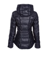 Dawn Levy - Blue Hooded Zip Jacket - Lyst