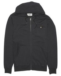 Billabong | Black Slice Full-zip Hooded Fleece for Men | Lyst