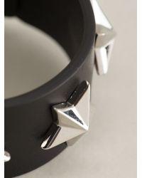 Givenchy Black Star Stud Bracelet