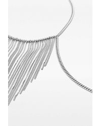 Urban Outfitters | Metallic Fringe Body Chain | Lyst