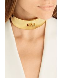 Arme De L'Amour - Metallic Gold-plated Choker - Lyst
