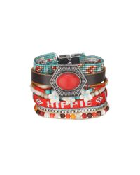 Hipanema | Red Bracelet | Lyst