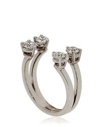 Delfina Delettrez - Metallic Dots Midi Finger Ring - Lyst