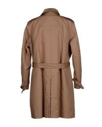 Luigi Bianchi Mantova - Natural Coat for Men - Lyst