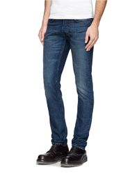 Mauro Grifoni - Blue Taper Leg Jeans for Men - Lyst