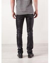 Naked & Famous Black Super Skinny Guy Jeans for men