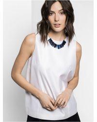 BaubleBar | Blue Bamm-Bamm Collar | Lyst