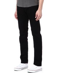 DIESEL - Blue Belther Slim-fit Tapered Jeans for Men - Lyst