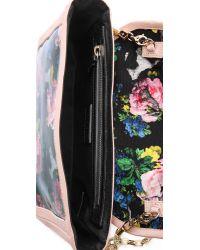 MSGM | Pink Printed Shoulder Bag | Lyst