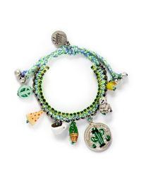 Venessa Arizaga - Green 'travel Bag' Bracelet - Lyst