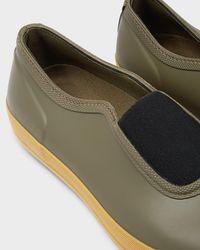 HUNTER - Green Men's Original Gum Sole Plimsolls for Men - Lyst