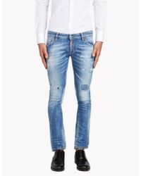 DSquared² | Blue Boot Cut Jeans for Men | Lyst