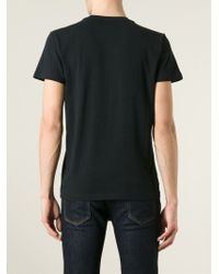 DIESEL - Black 't-asterios' T-shirt for Men - Lyst