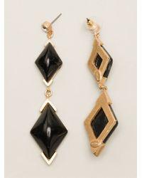 Gerard Yosca - Black Statement Earrings - Lyst
