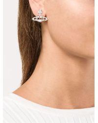 Vivienne Westwood | White 'Joyce' Earrings | Lyst