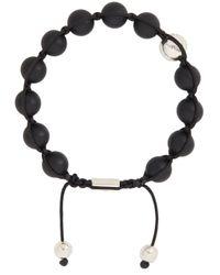 Nialaya | Black Matte Onyx Bracelet for Men | Lyst