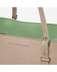 French Connection Brown Penelope Shopper Bag