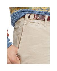 Polo Ralph Lauren | Natural Straight-fit Chino Short for Men | Lyst
